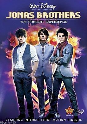 Jonas Brothers - The Concert Experience (Widescreen DVD, 2009) Kevin Jonas