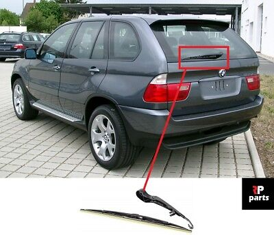 For Bmw X5 E53 1999 - 2006 New Rear Window Wiper Arm With Blade 450Mm