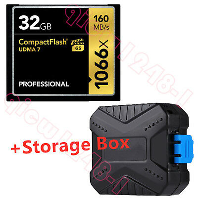 32GB Professional Compact Flash 160MB/s CF Memory Card 1066x UDMA7 VPG-65