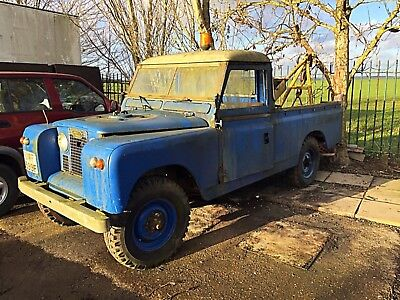 1968 Land Rover Series 2 (a) LWB Pick up with Harvey Frost Winch