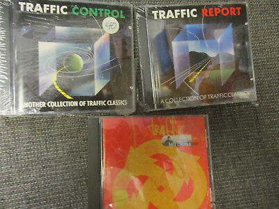 TRAFFIC  promo CD collection Steve Winwood Jim Capaldi Dave Mason CONTROL REPORT