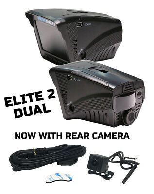 Drivesmart Elite 2 Dual - Radar Laser Gps Speed Camera Detector And Dvr Dash Cam