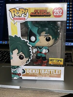 Funko Pop! My Hero Academy Deku Battle (Hot Topic) IN HAND! RARE!