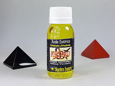 Aceite Esoterico RETIRO / RETIREMENT Esoteric Oil,  Spell Ritual Witchcraft