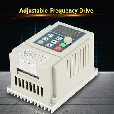 AC 220 Single Phase/3-Phase Variable Frequency Drive Inverter CNC Motor VFD