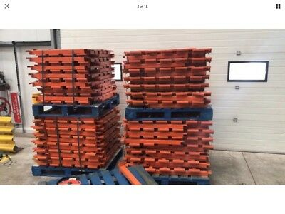 £2 Each Pallet Support Bars Fit All Industrial Racking Types 40mm & 50mm Beams