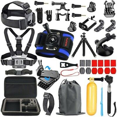 Action Camera GoPro Accessories Kit Outdoor Sports Hero 6 5 Black 4 3 3+ (2018)