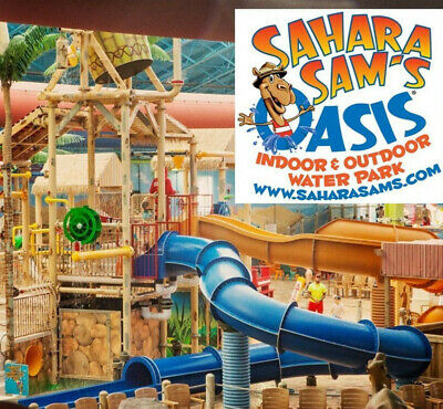 Sahara Sams Oasis WATERPARK Ticket Promo SAVINGS DISCOUNT Tool