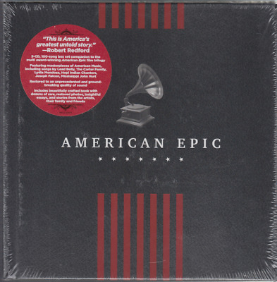 American Epic: The Collection [Box Set] by Various Artists (CD, May-2017, 5 Disc
