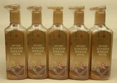 5 Spiced Gingerbread Swirl Creamy Luxe Hand Soap Bath & Body Works 8 Oz