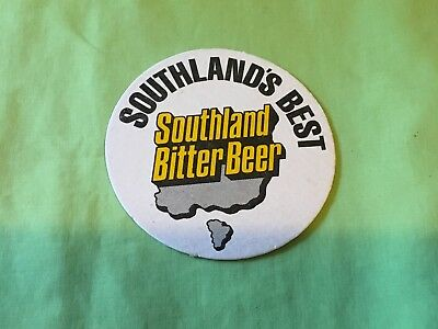 "Collectable drink coasters-""SOUTHLAND'S BEST BITTER BEER"" VERY GOOD CONDITION"