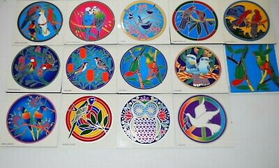 Sunseal Mandalas Sticker window Car bumper Stained Glass Mirror Australia Birds