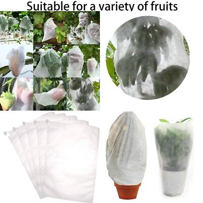 Biodegradable Non-woven water permeability Plant Fruits Grow Bags Fabric Seeding