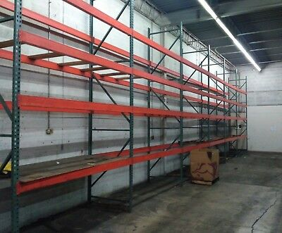 Pallet Racking in 19 Sections, 128 Crossbeams, 32 Uprights  (Will Separate)