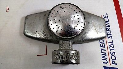Vintage SunMate Metal Sprinkler Head Garden Hose Lawn Spray Cast Aluminum USA