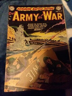 Our Army at War #6 1953 GD