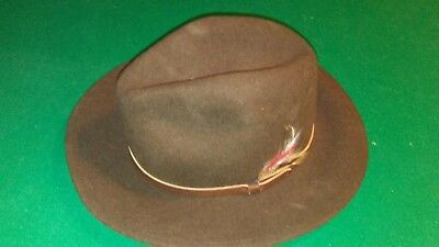 VINTAGE WOOL LITE felt hat made in usa size small -  30.00  4b611d01ddd9