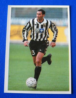 figurina CARD WCCF EUROPEAN CLUB 2002//03 PANINI NEW 124 JUVENTUS ZAMBROTTA