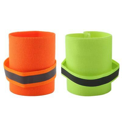 2pcs Reflective Pet Safety Wristband Dog Wrist Band Leg Wraps Walking Legs Bands