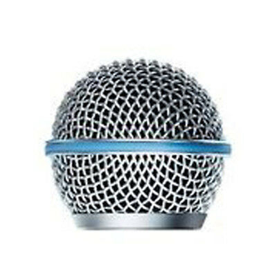1 Pack Microphone Grille Metal Windscreen For Shure BETA 58A Microphone Part New