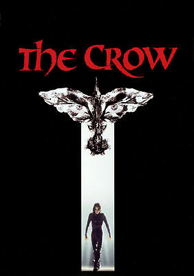 The Crow Movie Art Poster 8x12 24x36 24x43
