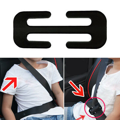 58x25x2mm Black Metal Automotive Car Safety Seat Belt Adjuster Locking Clip