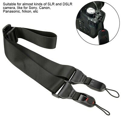 Adjustable Camera Neck Shoulder Strap Belt Anti-slip Maxload 10KG for Canon DSLR