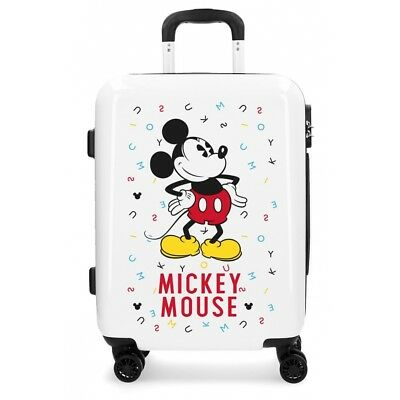 100% genuine high fashion reasonably priced TROLLEY VALIGIA DISNEY 40X55X20Cm Mickey Topolino Bagaglio A ...