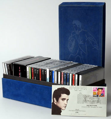 Elvis Presley - Blue Suede Shoes Collection (RARE, US 30 CD Box Set 2001) MINT