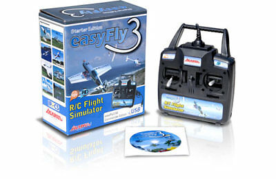 A-IKEF3SEGC Ikarus Easyfly 3 Start.Ed.Game R/C Flight Simulator New & Boxed