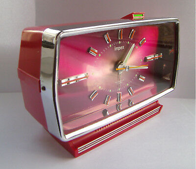 Vintage - Retro - Impex / Rhythm - Electro-Mech - Space Age - Rare - Clock