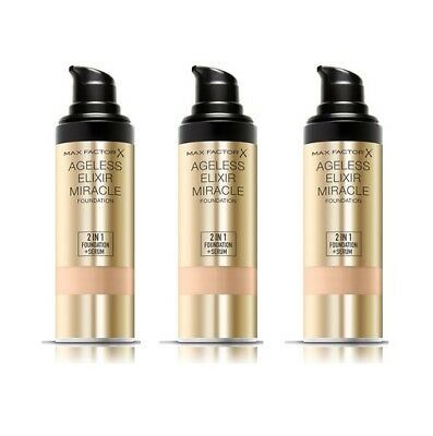 Max Factor Ageless Elixir Foundation Grundiuerung + Serum