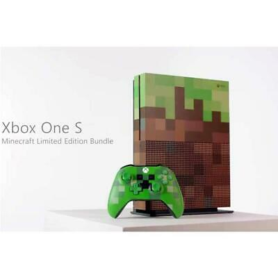 Microsoft Console Xbox One S 1 Tb Minecraft Limited Edition Sku 23C-00009