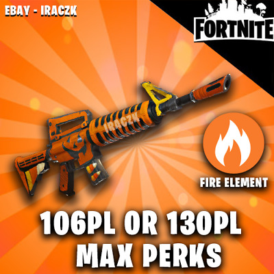 Fortnite Save The World - 106Pl Or 130Pl Grave Digger - Max Perks - Best Weapon