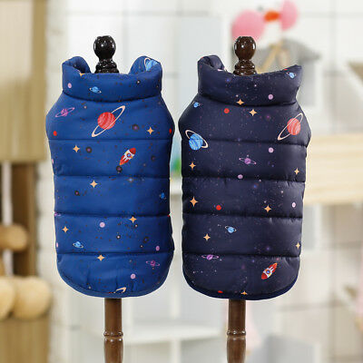 Winter Pet Dog Jacket Outdoor Poodle Coat Small Yorkie Clothes Warm Outfit Vest