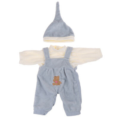 1set 43 cm doll clothes baby dolls clothes cartoon clothes for kid's best giftsR