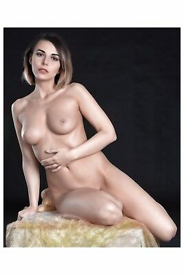 0137 SEMI NUDE female Breast model FINE ART PHOTOGRAPH