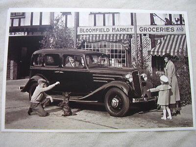 1934 CHEVROLET With Lots Of Accessories 12 X 18 Large Picture