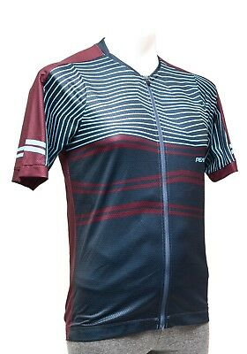 eac839f75 Pearl Izumi MTB LTD SS Cycling Jersey MEDIUM Port Mountain Stripe Baggy