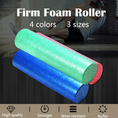 New High Density Extra Firm Foam Roller for Muscle Therapy and Balance Exercises