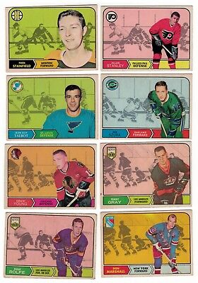 1968-69 OPC NHL Hockey Lot - Pick the cards you need - $2.50 each card