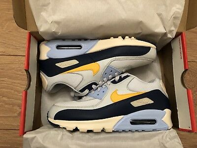8af203243d3a81 NIKE AIR MAX 90 Essential - Pure Platinum Yellow Ochre - UK 7 ...