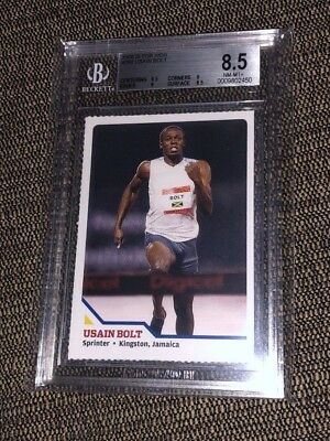 2008 Sports Illustrated SI for Kids~USAIN BOLT #294 RC~Rookie Card~Rare BGS 8.5