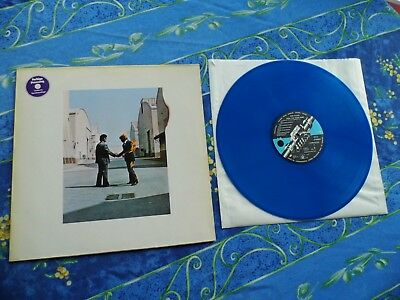 PINK FLOYD  ♫ WISH YOU WERE HERE  1st PRESS BLUE WAX ♫ RARE LP VINYL RECORDS #1A