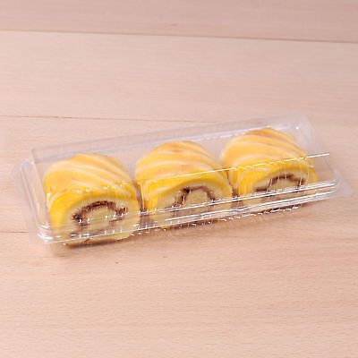 LABOR DAY Plastic Rectangular Food Bakery Pastries Storage Containers