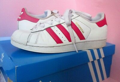 607bcf05ac CHAUSSURES BASKETS ADIDAS Superstar - taille 36 - Rose - EUR 36,00 ...