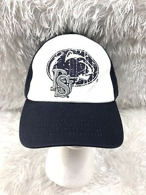 cb525e62c2426a official new adult zephyr ncaa penn state nittany lions blue adjustable  baseball hat osfa af9f1 8901c