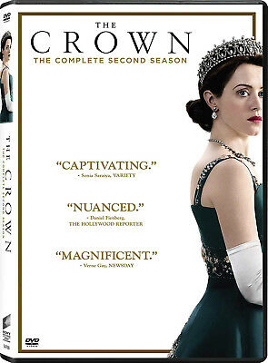 The Crown The Complete second Season 2 (DVD, 2018, 4-Disc Set)