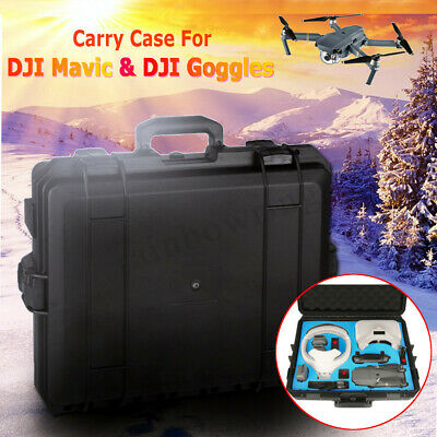 Hardshell Case Waterproof Bag Carrying Protect For DJI Mavic Pro Drone & Goggles