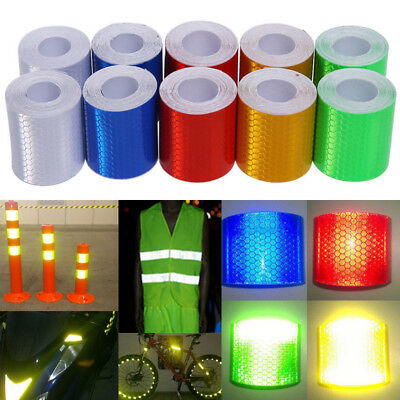 3m*5cm Safety Caution Reflective Tape Warning Tape Sticker Self Adhesive Tape